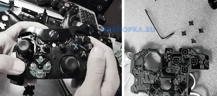 Как починить контакты кнопок геймпада фольгой