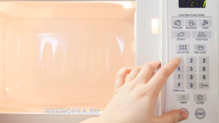 Причины поломки кнопок микроволновки