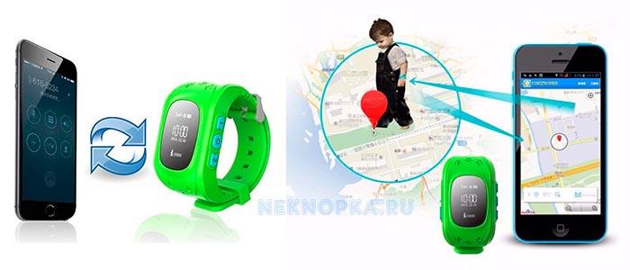 Часы с кнопкой жизни определяют местоположение ребенка и отправляют на телефон родителям