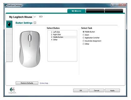 официальная программа настройки дополнительных кнопок мыши