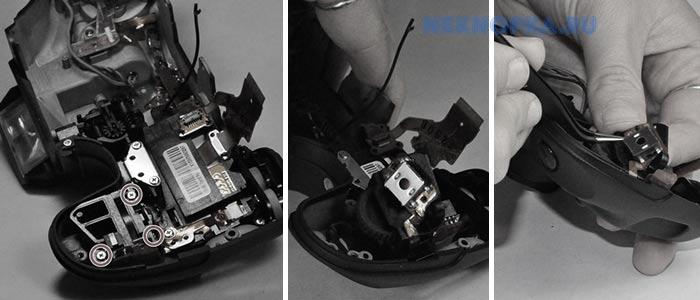 Как произвести замену кнопки фотоаппарата