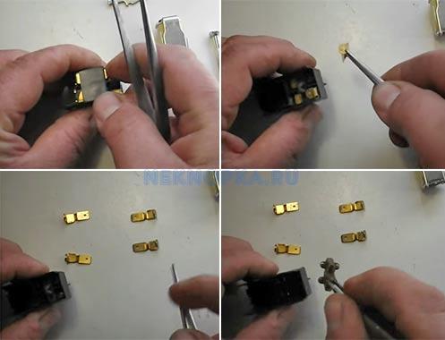 Как подключить кнопку бетономешалки