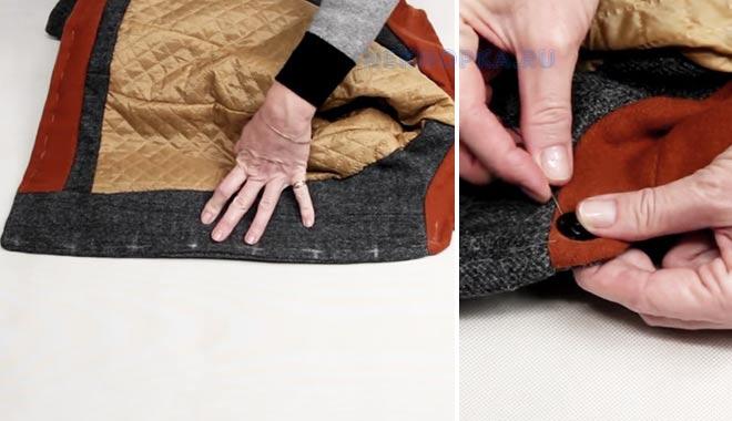 Как правильно пришивать кнопки на одежду
