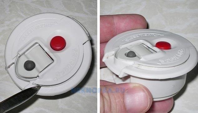 Как промыть кнопку термоса