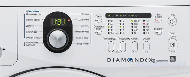 Обозначение кнопок стиральной машины Самсунг