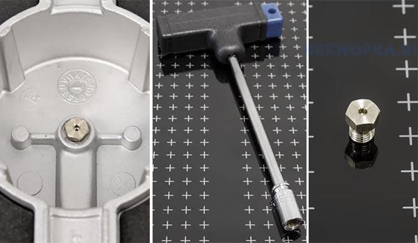 Чистка жиклёров плиты когда не включаются конфорки с кнопки