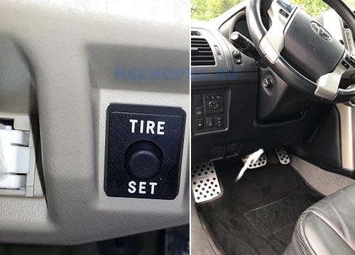 Кнопеп reset Тойота для индикатора датчика давления в шинах