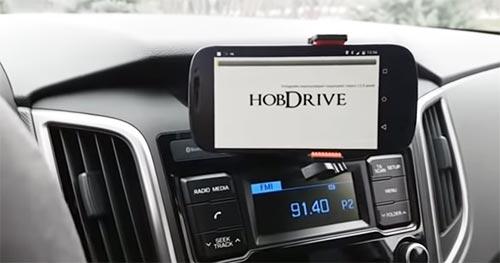 Приложение HobDrive для сброса индикации датчика давления в шинах